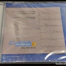 CDs de Música: EL DISC DE LA MARATÓ DE TV3 / 2011 / DIVERSOS ARTISTAS Y GRUPOS / 20 TEMAS / PRECINTADO.. Lote 277174988