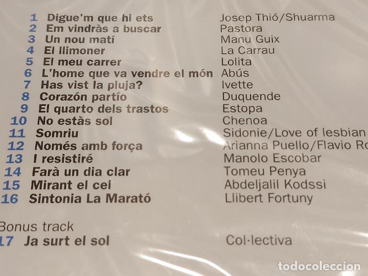 CDs de Música: EL DISC DE LA MARATÓ DE TV3 / 2008 / DIVERSOS ARTISTAS Y GRUPOS / 17 TEMAS / PRECINTADO. - Foto 3 - 277175298