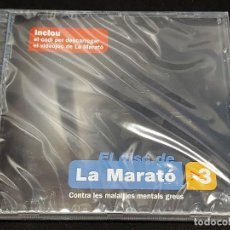 CDs de Música: EL DISC DE LA MARATÓ DE TV3 / 2008 / DIVERSOS ARTISTAS Y GRUPOS / 17 TEMAS / PRECINTADO.. Lote 277175298