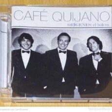 CDs de Música: CAFE QUIJANO (ORIGENES: EL BOLERO) CD 2012 - ARMANDO MANZANERO. Lote 277175683