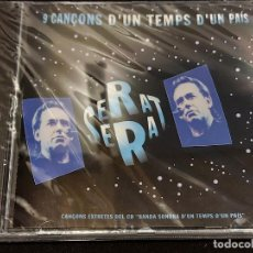 CDs de Música: JOAN MANUEL SERRAT / 9 CANÇONS D'UN TEMPS D'UN PAÍS / CD-ARIOLA-1996 / PRECINTADO.. Lote 277176213
