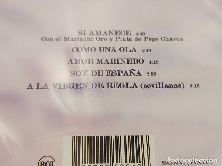 CDs de Música: EN HOMENAJE A ROCIO JURADO / 5 GRANDES ÉXITOS / REVISTA HOLA / PRECINTADO. - Foto 3 - 277176883