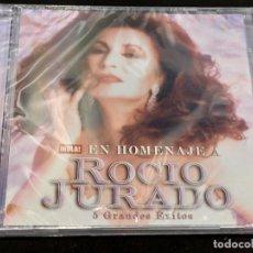 CDs de Música: EN HOMENAJE A ROCIO JURADO / 5 GRANDES ÉXITOS / REVISTA HOLA / PRECINTADO.. Lote 277176883
