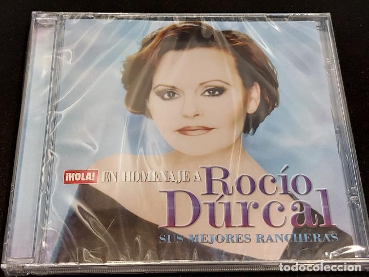 EN HOMENAJE A ROCÍO DÚRCAL / SUS MEJORES RANCHERAS / REVISTA HOLA / 5 TEMAS / PRECINTADO. (Música - CD's Pop)