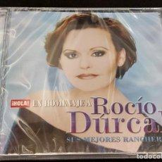 CDs de Música: EN HOMENAJE A ROCÍO DÚRCAL / SUS MEJORES RANCHERAS / REVISTA HOLA / 5 TEMAS / PRECINTADO.. Lote 277177043
