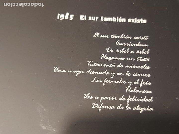 CDs de Música: SERRAT PERSONAL / 1985 / EL SUR TAMBIÉN EXISTE / CARPETA CON LIBRETO + CD / IMPECABLE. - Foto 3 - 277179783