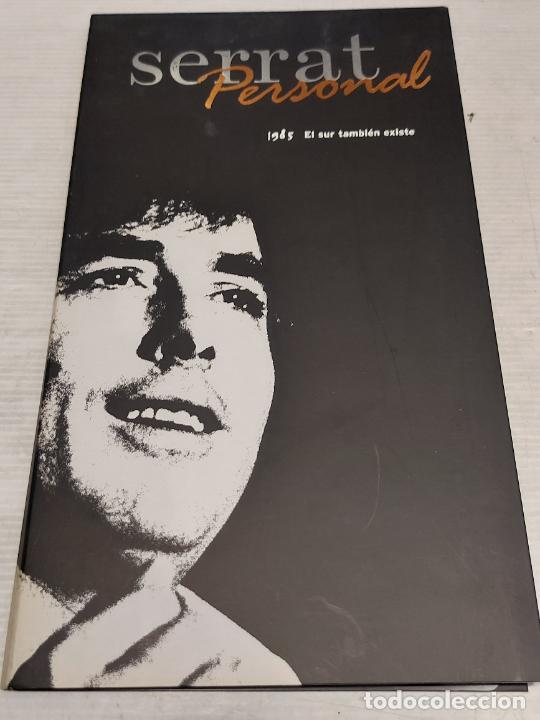 SERRAT PERSONAL / 1985 / EL SUR TAMBIÉN EXISTE / CARPETA CON LIBRETO + CD / IMPECABLE. (Música - CD's Pop)