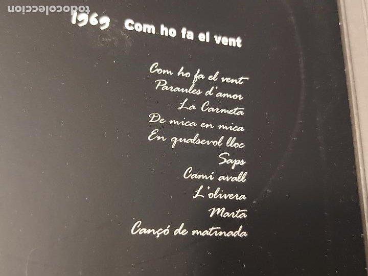 CDs de Música: SERRAT PERSONAL / 1969 / COM HO FA EL VENT / CARPETA CON LIBRETO + CD / IMPECABLE. - Foto 3 - 277180038