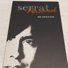 CDs de Música: SERRAT PERSONAL / 1969 / COM HO FA EL VENT / CARPETA CON LIBRETO + CD / IMPECABLE.. Lote 277180038
