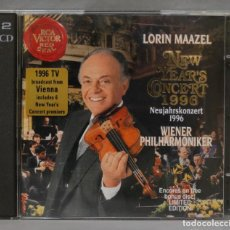 CDs de Música: CD. NEW YEARS CONCERT 1996. MAAZEL. VIENA. Lote 277186183
