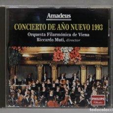 CDs de Música: CD. CONCIERTO DE AÑO NUEVO 1993. AMADEUS. Lote 277186308