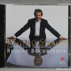 CDs de Música: CD. STRAUSS JR. RUDOLF BUCHBINDER. WALTZING STRAUSS. Lote 277186778