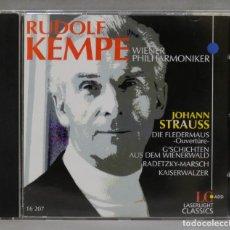 CDs de Música: CD. KEMPE. STRAUSS. LASERLIGHT. Lote 277188498