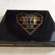 CDs de Música: RAMMSTEIN -LIEBE IS FÜR ALLE DA- 2 X CD. Lote 277198463