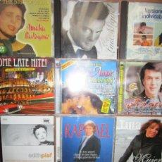 CDs de Música: LOTE CD'S VARIOS DOBLES , ADAMO , LUIS MIGUEL , RAPHAEL ,JAZZ , TINA , EDITH PIAF , ITALIA ,. Lote 277213633