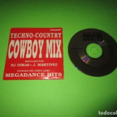 CDs de Música: TECHNO-COUNTRY COWBOY MIX - CD ( 2 TRACK ) . 3200529 - ARCADE - PROMOCIONAL - DJ DIMAS Y J. MARTINEZ. Lote 277218248