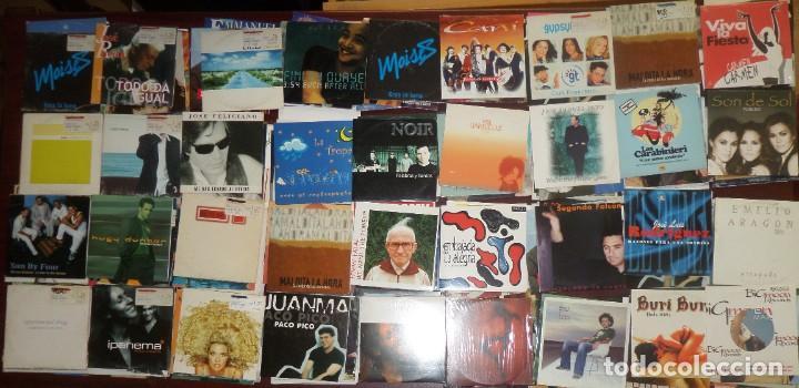 GRAN LOTE 190 CDS SINGLES ( FUNDA DE CARTON ) - POP / DANCE / DISCO / FLAMENCO - DISPONGO DE MAS CDS (Música - CD's Otros Estilos)