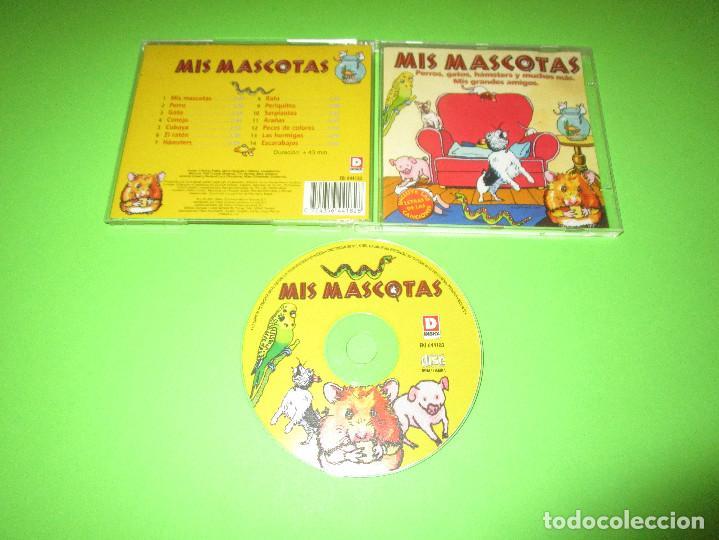 MIS MASCOTAS - CD - EKI 644182 - PERROS - GATOS - HAMSTERS Y MUCHOS MAS - MIS GRANDES AMIGOS (Música - CD's Otros Estilos)