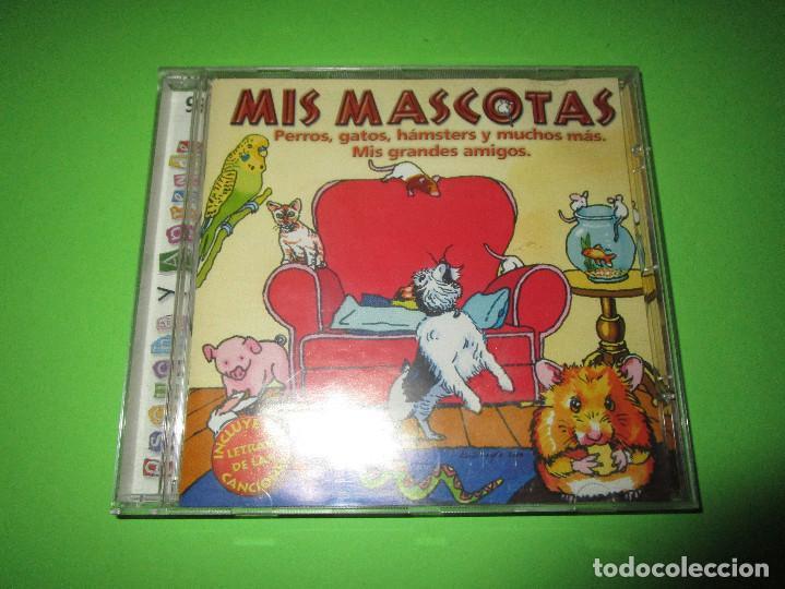 CDs de Música: MIS MASCOTAS - CD - EKI 644182 - PERROS - GATOS - HAMSTERS Y MUCHOS MAS - MIS GRANDES AMIGOS - Foto 2 - 277224083