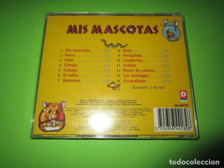 CDs de Música: MIS MASCOTAS - CD - EKI 644182 - PERROS - GATOS - HAMSTERS Y MUCHOS MAS - MIS GRANDES AMIGOS - Foto 3 - 277224083
