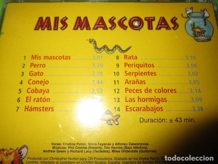 CDs de Música: MIS MASCOTAS - CD - EKI 644182 - PERROS - GATOS - HAMSTERS Y MUCHOS MAS - MIS GRANDES AMIGOS - Foto 4 - 277224083