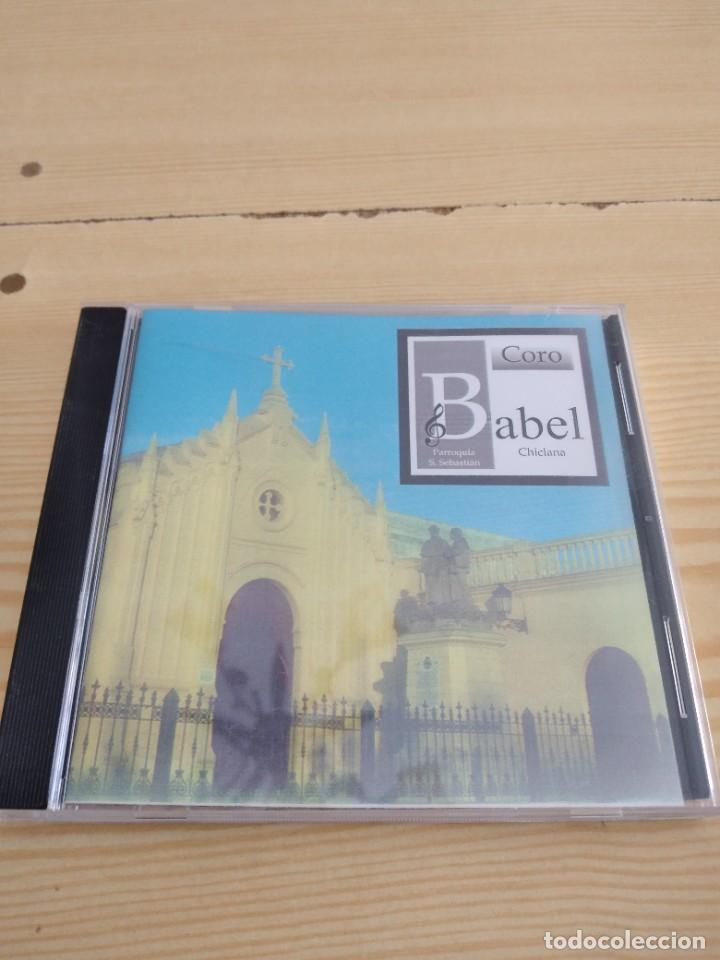 C-13 CD MUSICA CORO BABEL CHICLANA PARROQUIA SAN SEBASTIAN (Música - CD's Otros Estilos)