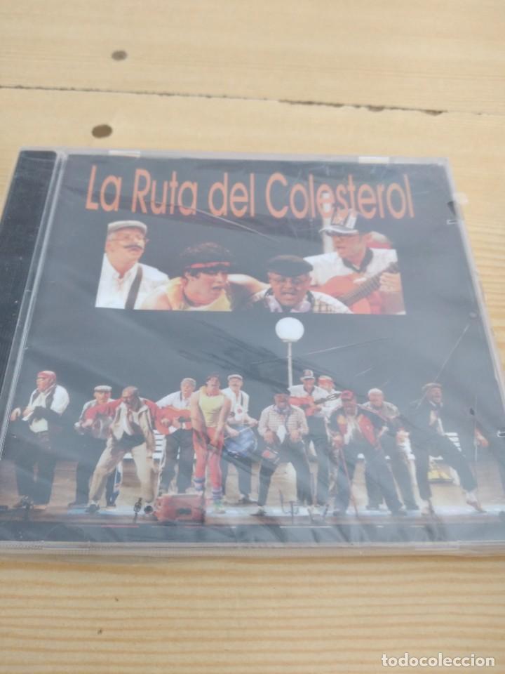 C-13 CD MUSICA CARNAVAL DE CADIZ NUEVO PRECINTADO LA RUTA DEL COLESTEROL (Música - CD's Otros Estilos)