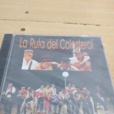 CDs de Música: C-13 CD MUSICA CARNAVAL DE CADIZ NUEVO PRECINTADO LA RUTA DEL COLESTEROL. Lote 277226933