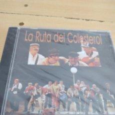 CDs de Música: C-13 CD MUSICA CARNAVAL DE CADIZ NUEVO PRECINTADO LA RUTA DEL COLESTEROL. Lote 277226968