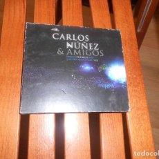 CDs de Música: CD + DVD - CARLOS NUÑEZ & AMIGOS - GRABADO EN DIRECTO 2004 - AUDITORIO CASTRELOS VIGO TENGO MAS CDS. Lote 277236313