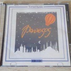 CDs de Música: VALÈNCIA, ESTAMBUL, KONSTANTINÒPOLIS-CD-ELS PAVESOS-FONOMUSIC-AÑO 1991-MUY DIFÍCIL.. Lote 277244763