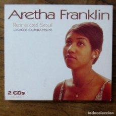 CDs de Música: ARETHA FRANKLIN. REINA DEL SOUL, LOS AÑOS COLUMBIA 1960-65 - 2002 - DOBLE. Lote 277249613