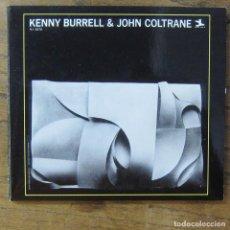 CDs de Música: KENNY BURRELL & JOHN COLTRANE (1958) - 1998 - GUITARRA, SAXO,. Lote 277250463