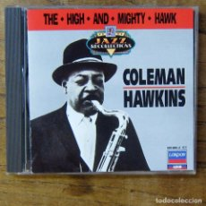 CDs de Música: COLEMAN HAWKINS - THE HIGH AND MIGHTY HAWK (1959) - 1988 - SAXO, HANK JONES. Lote 277251163