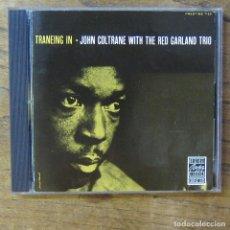 CDs de Música: JOHN COLTRANE WITH THE RED GARLAND TRIO - TRANEING IN (1957) - 1987 - SAXO. Lote 277252408