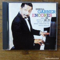 CDs de Música: ERROLL GARNER - ENCORES IN HI FI (1959) - 1987 - PIANO. Lote 277253873
