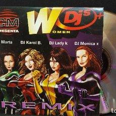 CDs de Música: WOMEN DJ´S - DJ MARTA - KAROL B - LADY K - MONICA X - CD SINGLE - PROMO - 2001 PEPETO. Lote 277258023