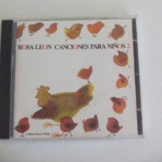 CDs de Música: ROSA LEON CANCIONES PARA NIÑOS 2. FONOMUSIC. Lote 277267873
