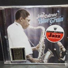 CDs de Música: JOHN COLTRANE - BLUE TRAIN (CD 2008 ESSENTIAL JAZZ CLASSICS EU ) PRECINTADO PEPETO. Lote 277271238