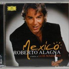 CDs de Música: CD. MEXICO. ALAGNA CANTA A LUIS MARIANO. Lote 277289558