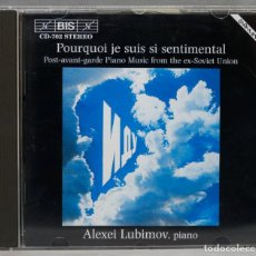 CDs de Música: CD. POST-AVANT-GARDE PIANO MUSIC FROM THE EX-SOVIET UNION. LUBIMOV. Lote 277289708