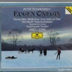 CDs de Música: CAJA CD. TSCHAIKOWSKY. ONEGIN. LEVINE. Lote 277289823
