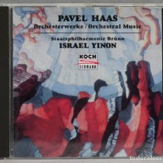 CDs de Música: CD. ORCHESTERWERKE. ORCHESTRAL MUSIC. HAAS. YINON. Lote 277289973