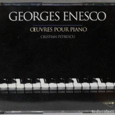 CDs de Música: CAJA CD. OEUVRES POUR PIANO. ENESCO. PETRESCU. Lote 277290318