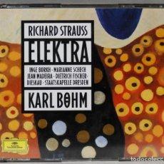 CDs de Música: 2 CD. ELEKTRA. STRAUSS. BOHM. Lote 277290478
