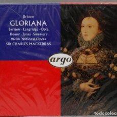 CDs de Música: 2 CD. GLORIANA. BRITTEN. MACKERRAS. Lote 277294703