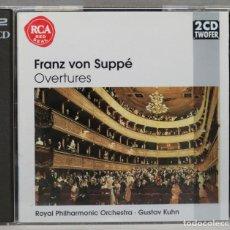 CDs de Música: 2 CD. VON SUPPER. OVERTURES. KUHN. Lote 277294743