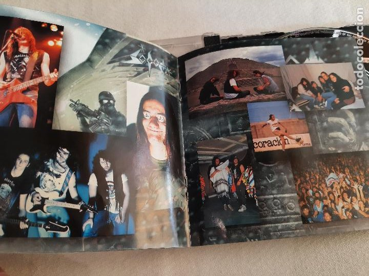 CDs de Música: SODOM -TEN BLACK YEARS - BEST OF- (1996) 2 X CD - Foto 4 - 277295808