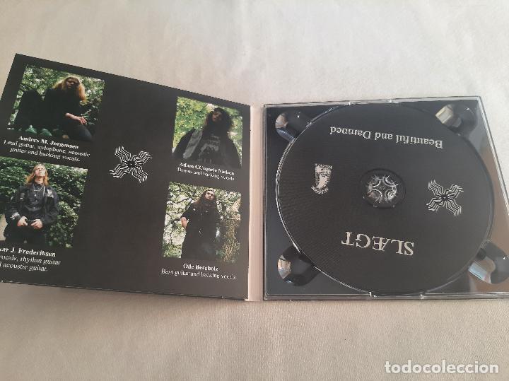 CDs de Música: SLAEGT -BEAUTIFUL AND DAMNED- (2015) CD - Foto 5 - 277296963