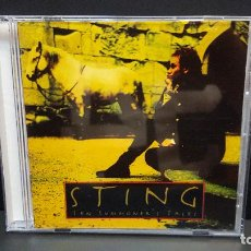 CDs de Música: STING TEN SUMMONER'S TALES CD - AM (DDD) 1993 FRANCIA PDELUXE. Lote 277298028